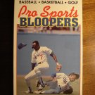Pro Sports Bloopers VHS video tape - baseball, football, hockey, boxing, golf, basketball