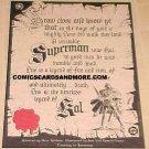 Superman Kal comic book promotional poster - NM / M