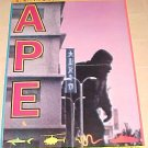 Ape movie promotional poster - looks like some sort of King Kong knock-off