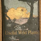 Useful Wild Plants of the U.S. & Canada Hardcover book, 1920 McBride & Co.