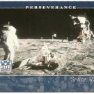 2002 Topps American Pie card #73 Space race - Lunar moon landing