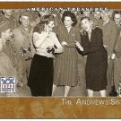 2002 Topps American Pie card #124 The Andrews Sister