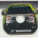 Buick Rendezvous promo promotional CD-ROM card - it plays in your CD player! NM/M