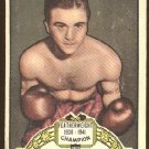 1951 Topps Ringside boxing card #27 Petey Scalzo VG