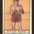 1951 Topps Ringside boxing card #33 Walter Cartier EX