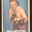 1951 Topps Ringside boxing card #52 Lee Savold VG - has two light surface wrinkles
