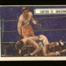 1951 Topps Ringside boxing card #80 Cartier vs Hairston G