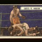 1951 Topps Ringside boxing card #80 (B) Cartier vs Hairston VG