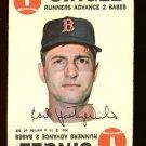 1968 Topps baseball game card #3 Carl Yastrzemski VG