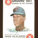 1968 Topps baseball game card #29 (B) Rod Carew VG