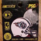 """NFL football Tennessee Titans pin, mint condition, 1.25"""" square. Tie-tack style pin on back."""