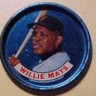 1965 Old London baseball metal coin - Willie Mays VG