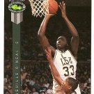 1992 Classic Four Sport basketball card #1 Shaquille O'Neal (Shaq) NM/M
