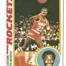1978 - 1979 Topps basketball card #13 Calvin Murphy Houston Rockets NM
