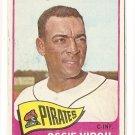 1965 Topps baseball card #571 Ossie Virgil, VG, Pittsburgh Pirates