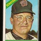 1966 Topps baseball card #46 Howie Koplitz EX Washington Senators