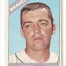 1966 Topps baseball card #381 Hank Fischer VG Atlanta Braves