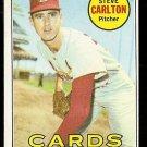 1969 Topps baseball card #255 Steve Carlton EX St. Louis Cardinals