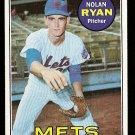 1969 Topps baseball card #533 Nolan Ryan NM (2nd year) New York Mets