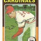 1975 Topps baseball card #98 (B) Rich Folkers NM St. Louis cardinals