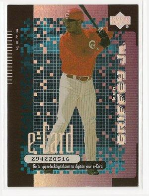 2000 Upper Deck E-card #E1 Ken Griffey Jr. NM/M Cincinnati Reds