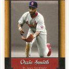 2001 Upper Deck baseball card #55 Ozzie Smith NM/M Upper Deck Legends