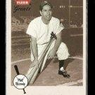 2002 Fleer Greats baseball card #37 NM/M Phill Rizzuto New York Yankees