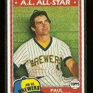 1982 Fleer baseball card #300 Carl Yaz Yastrzemski MINT Boston red Sox