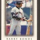 1999 Topps Gallery baseball card #77 Barry Bonds NM/M San Francisco Giants