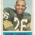 1964 Philadelphia (Philly) football card #71 Herb Adderly G/VG Green Bay Packers