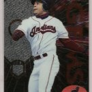 "2000 Topps Finest JUMBO (3.25"" x 4.5"") baseball card #13 of 20 Manny Ramirez  NM/M"