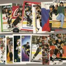 14 diff Jaromir Jagr hockey cards - all NM lot, most from the early 1990's