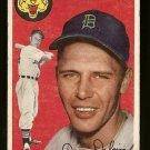 1954 Topps baseball card #111 Jim Delsing VG Detroit Tigers