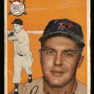 1954 Topps baseball card #106 Dick Kokos fair condition Baltimore Orioles