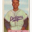 1954 Bowman baseball card #10 Carl Erskine VG-