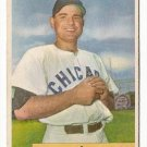 1954 Bowman baseball card #93 Bill Serena VG