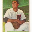 1954 Bowman baseball card #180 Joe Tipton VG