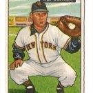 1951 Bowman baseball card #161 Wes Westrum VG