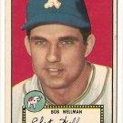 1952 (original) Topps baseball card #41 Bob Wellman VG/EX black back