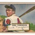 1952 (original) Topps baseball card #97 (B) Earl Torgeson VG red back