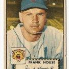 1952 (original) Topps baseball card #146 Frank House - fair