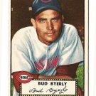 1952 (original) Topps baseball card #161 (B) Bud Byerly EX