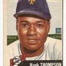 1953 Topps baseball card #20 Hank Thompson (C) Good condition, New York Giants