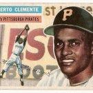 1956 Topps baseball card #33 Roberto Clemente VG/EX Pittsburgh Pirates