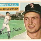 1956 Topps baseball card #195 (D) George Kell NM Chicago White Sox
