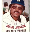 1977 Hostess baseball card #3 Reggie Jackson New York Yankees