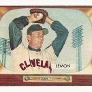 1955 Bowman baseball card #191 (C) Bob Lemon VG/EX