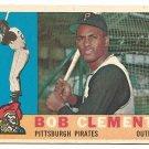 1960 Topps baseball card #326 Roberto Clemente NM- Pittsburgh Pirates