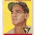 1958 Topps baseball card #85 Luis Aparicio G/VG Chicago White Sox