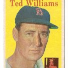 1958 Topps baseball card #1 Ted Williams EX/NM Boston Red Sox